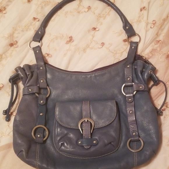 Michael Rome Handbags - Michael Rome Designs Leather Shoulder Bag